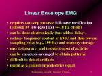 linear envelope emg