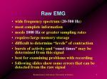 raw emg