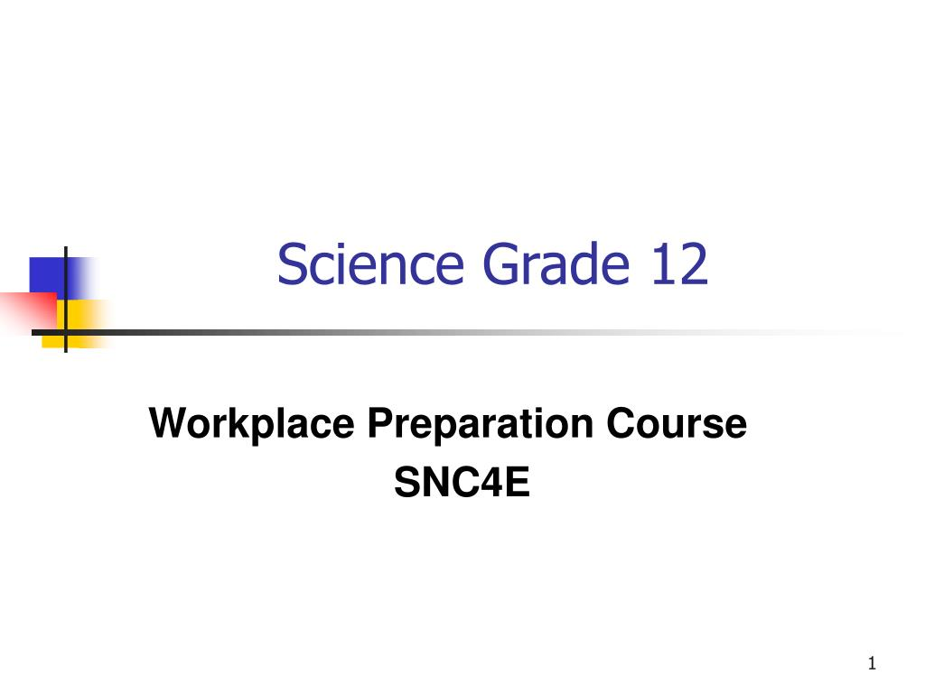 science grade 12 l.