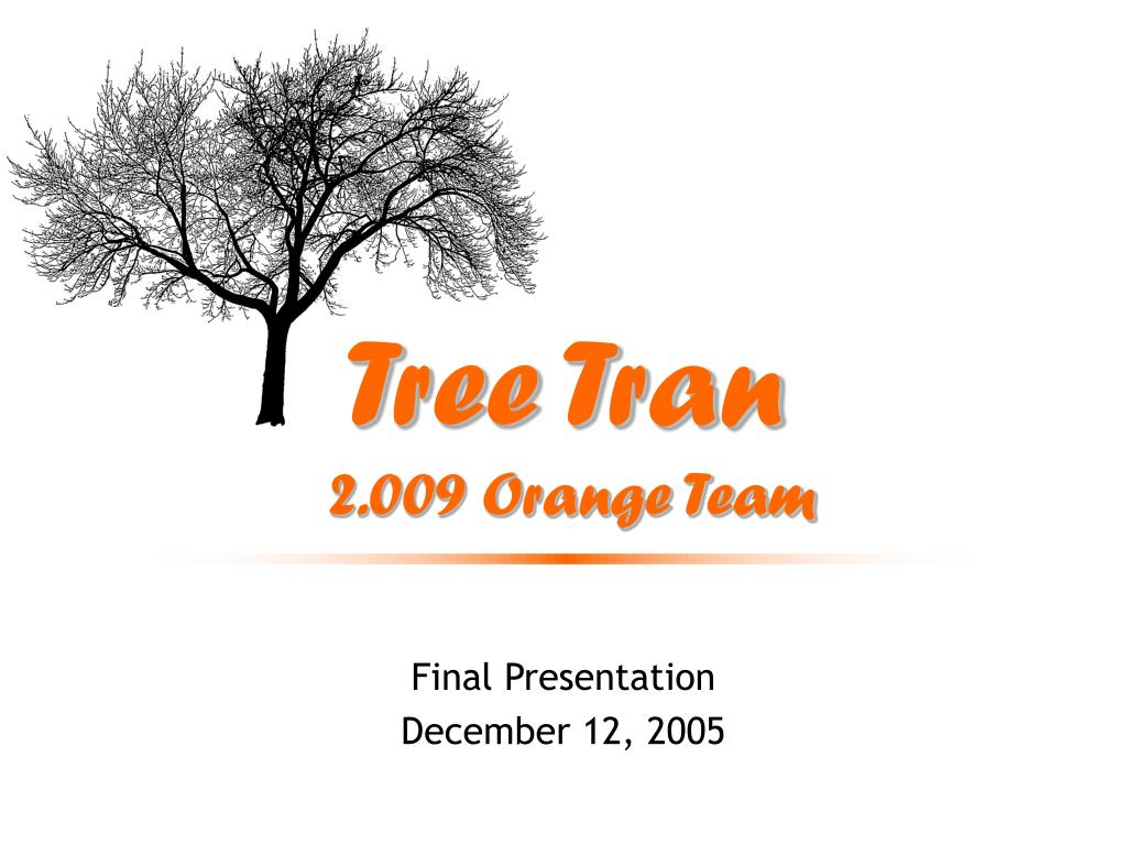 tree tran 2 009 orange team l.