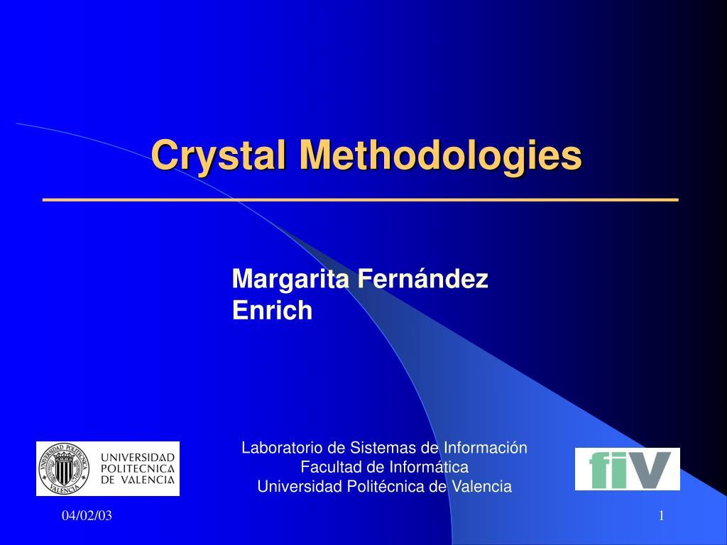 crystal methodologies l.