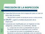 precisi n de la inspecci n15