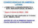 consecuencias en am rica latina30