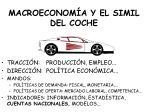 macroeconom a y el simil del coche