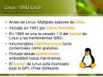 linux gnu linux