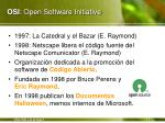 osi open software initiative
