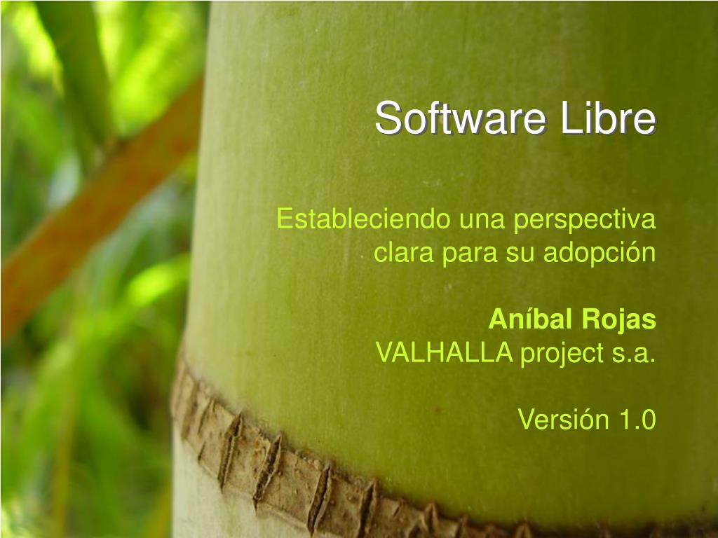 software libre l.