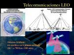 telecomunicaciones leo