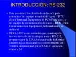 introducci n rs 232