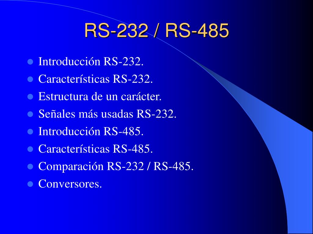 rs 232 rs 485 l.