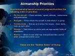 airmanship priorities