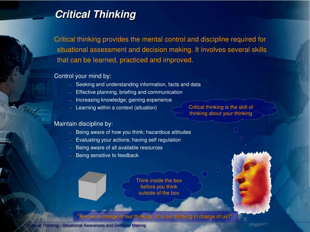 critical and creative thinking presentation Critical and creative thinking lessons are designed to be integrated in each k-6 classroom throughout the year the advanced academics resource teacher collaborates with the classroom teacher to model and coordinate several response lesson experiences throughout the year for all students.