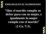 fidelidad en el matrimonio59