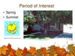 period of interest6