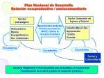plan nacional de desarrollo relaci n eco productivo sociocomunitario