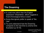 the dreaming15