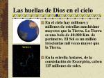 las huellas de dios en el cielo13
