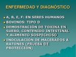enfermedad y diagn stico