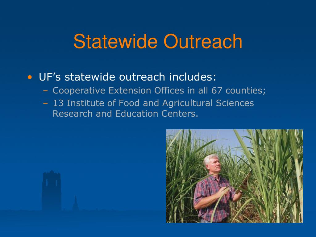 Statewide Outreach