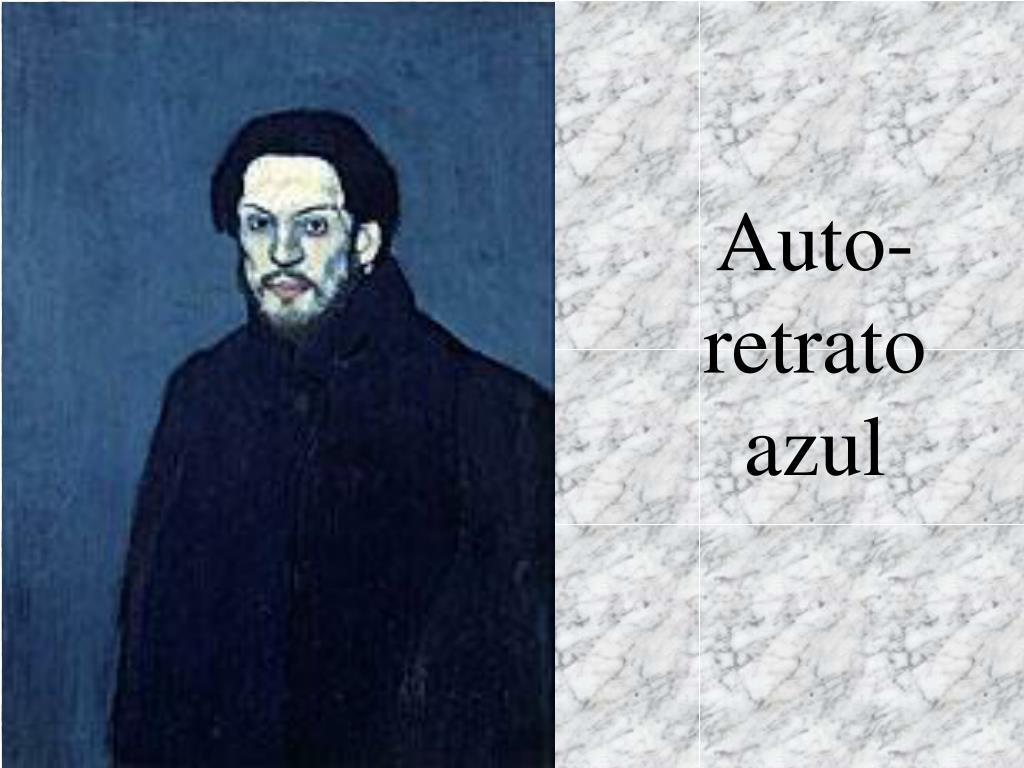 Auto-retrato azul
