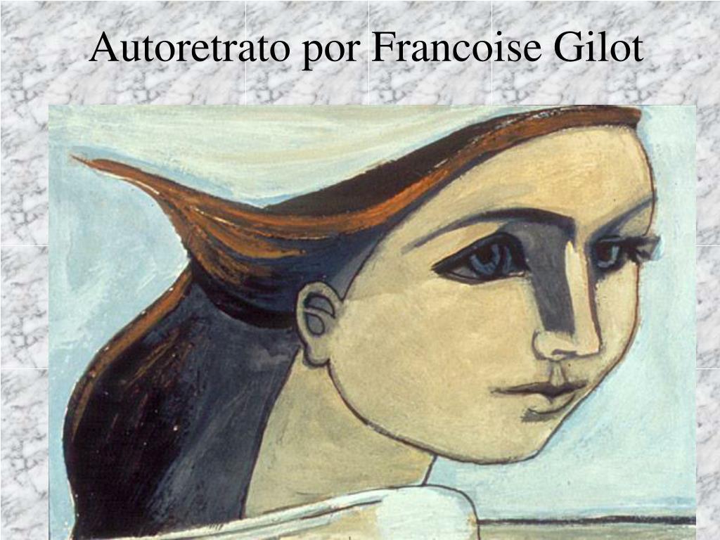Autoretrato por Francoise Gilot