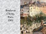 boulevar clichy paris 1901