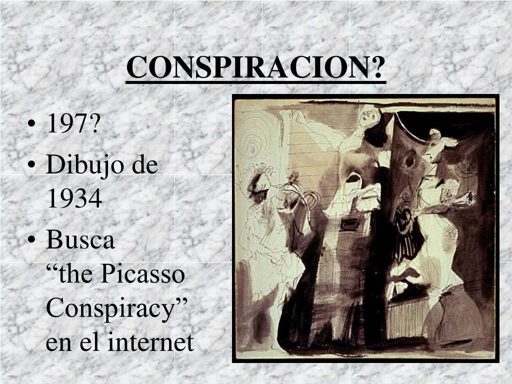 CONSPIRACION?