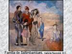 familia de saltimbanques galeria nacional d c