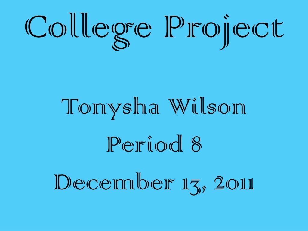 college project l.