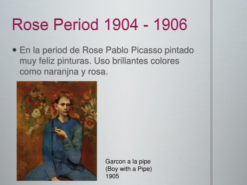Rose Period 1904 - 1906