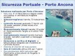 sicurezza portuale porto ancona