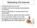 marketing via internet