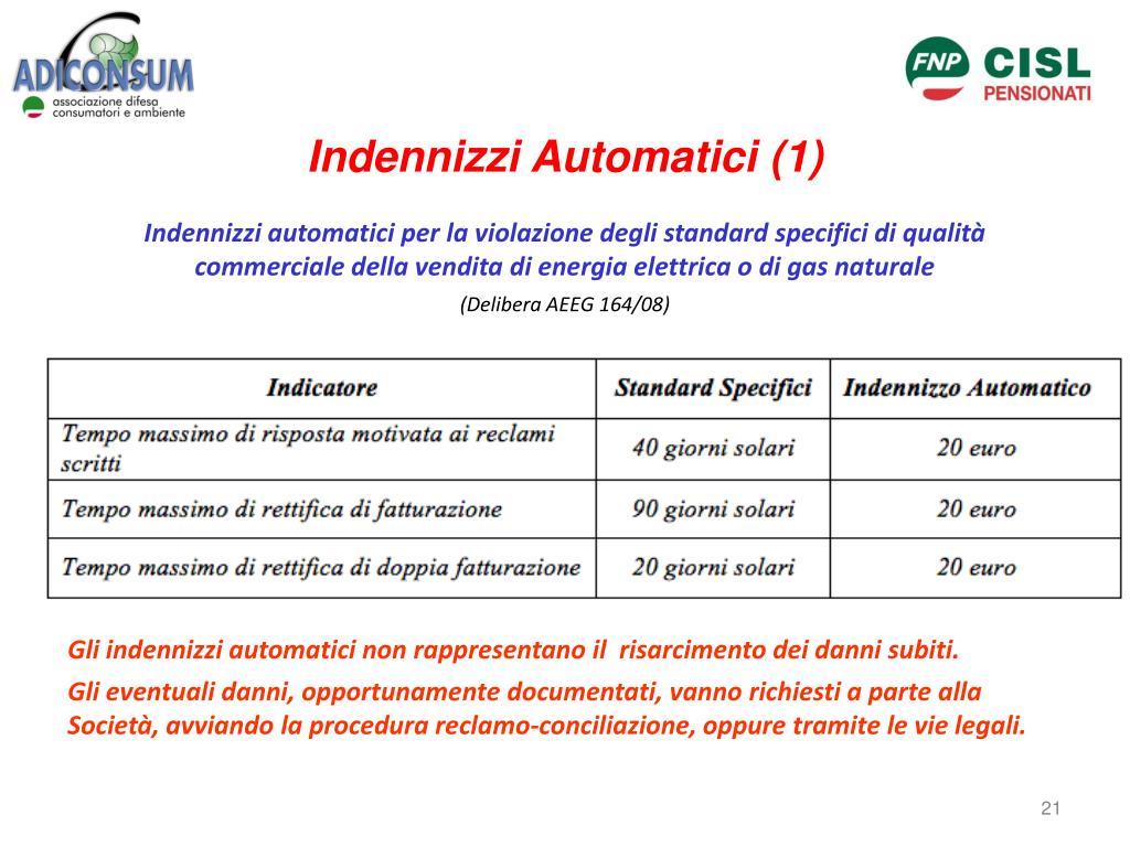 Indennizzi Automatici (1)