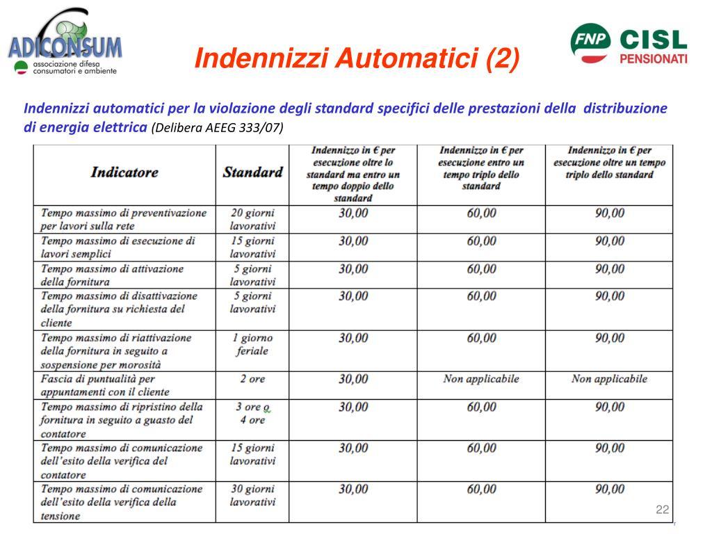 Indennizzi Automatici (2)