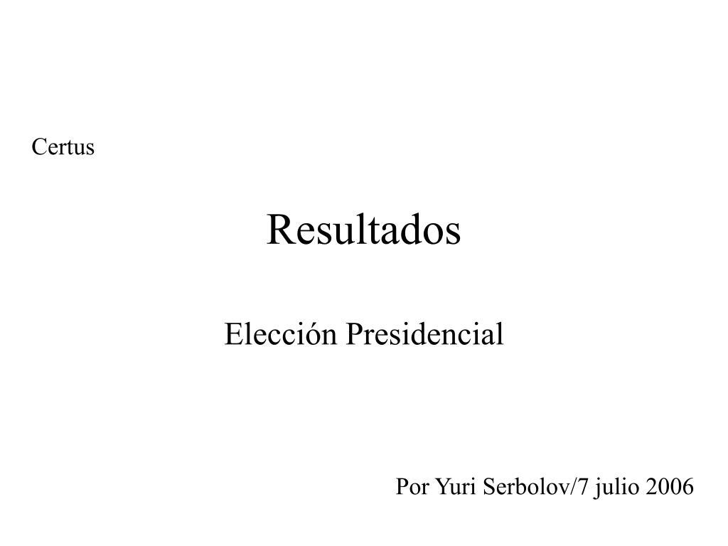 resultados l.