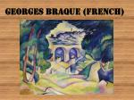 georges braque french