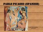 pablo picasso spanish