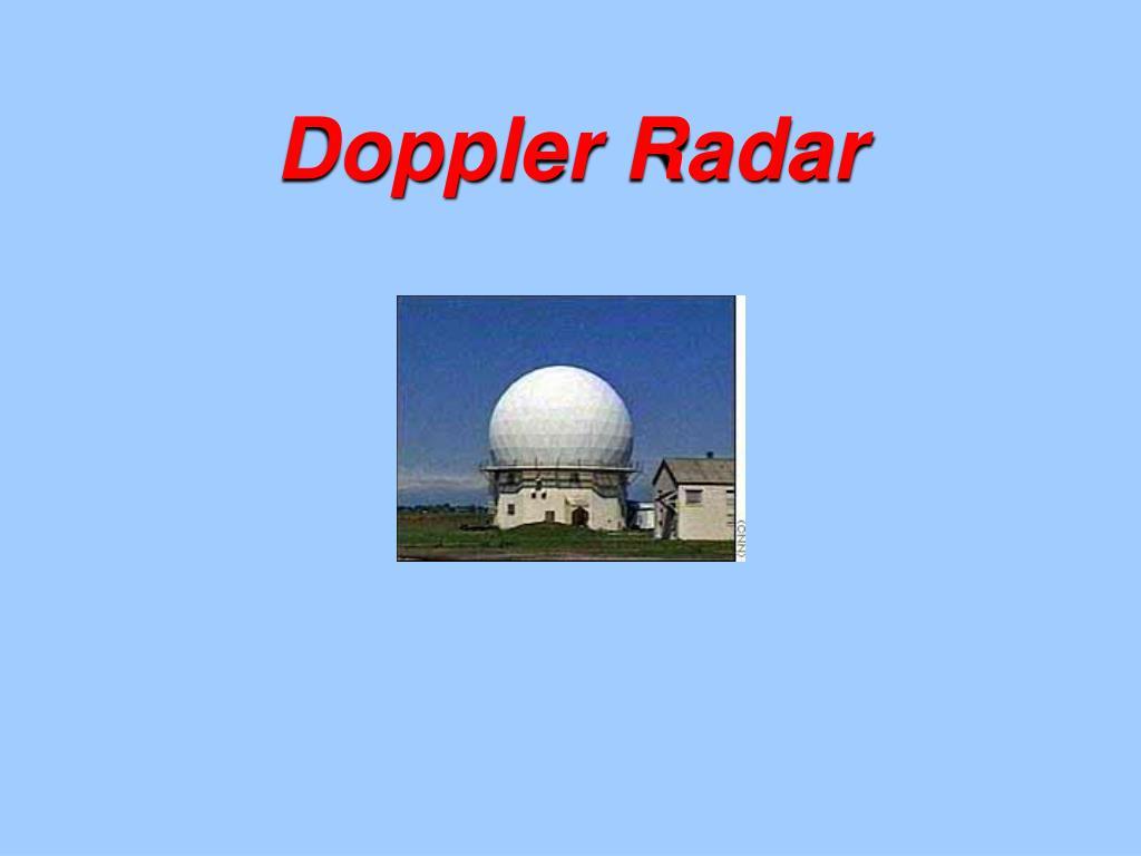 doppler radar l.