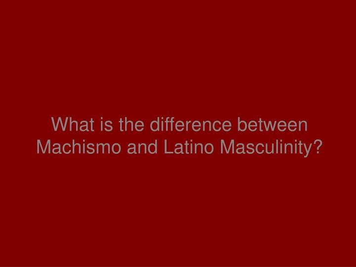 machismo and latin american men essay A lack of directness is certainly not an issue for most latin men, according to beth stevenson, an american veteran of the argentine dating game after living and working in buenos aires for a year and a half argentine men are really flirtatious, she said.