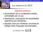 los tesauros en isoc12