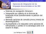 opciones de integraci n de los lenguajes documentales en los sri