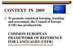 context in 20094