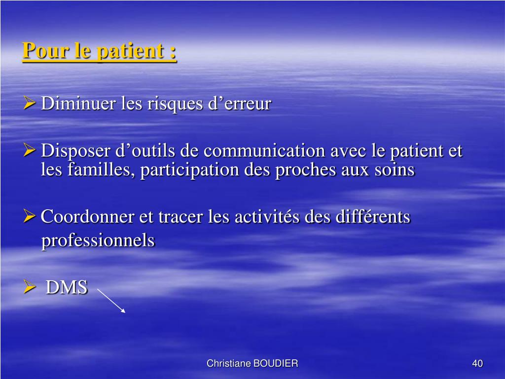 ppt - chemin clinique powerpoint presentation