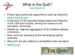 what is the quilt www thequilt net