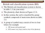 british soil classification system bs
