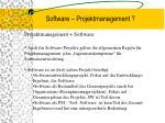 software projektmanagement6