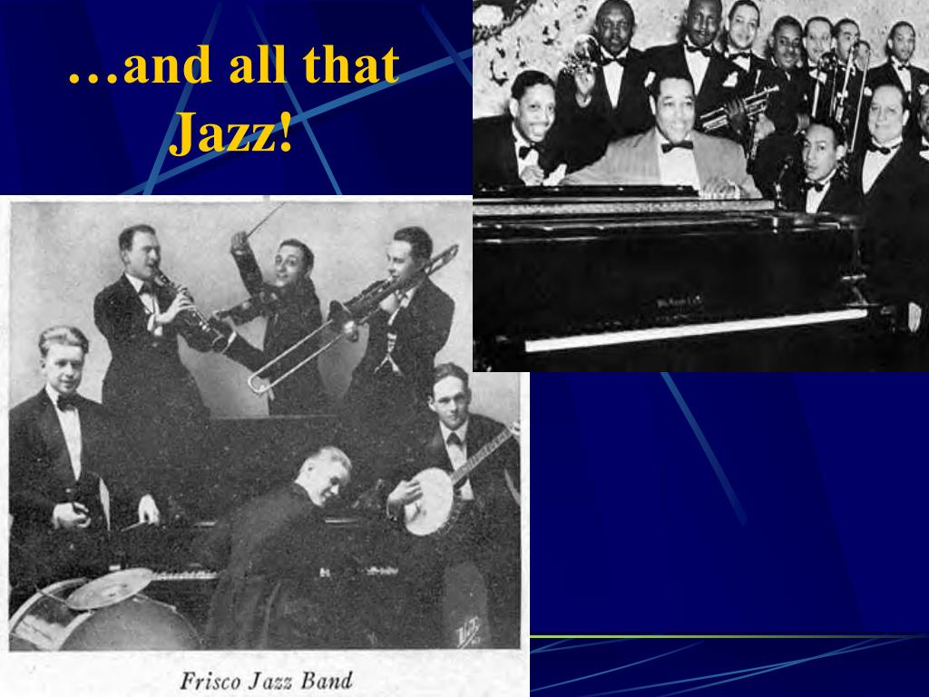 …and all that Jazz!