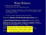 water balance59