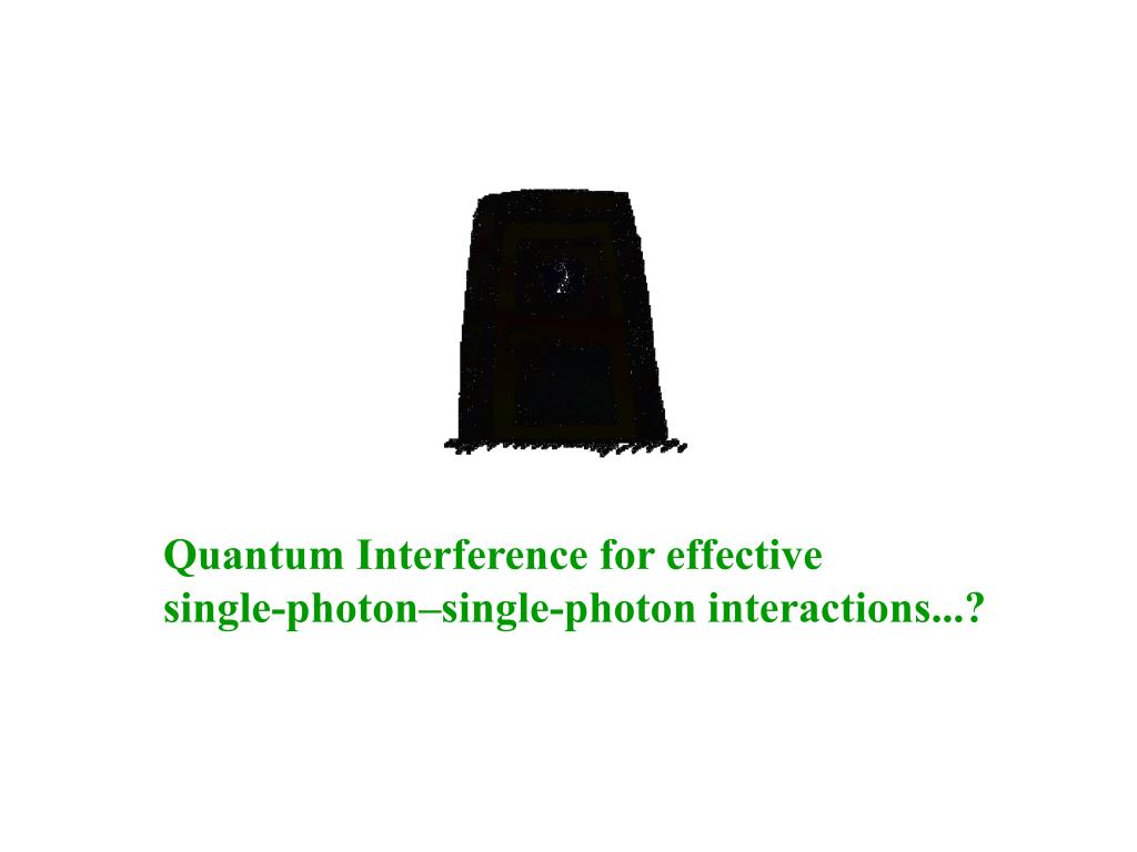 Quantum Interference for effective