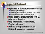 impact of bridewell